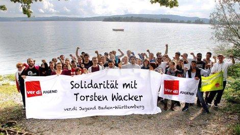Baden-Württemberger ver.di-Jugend solidarisiert sich mit Torsten Wacker