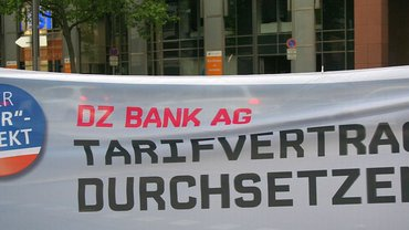 Warnstreik DZ BANK AG