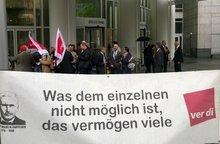 Warnstreik DZ BANK AG 02.06.2016