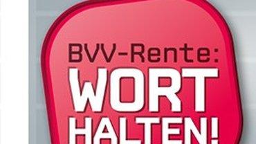 BVV-Wort halten!