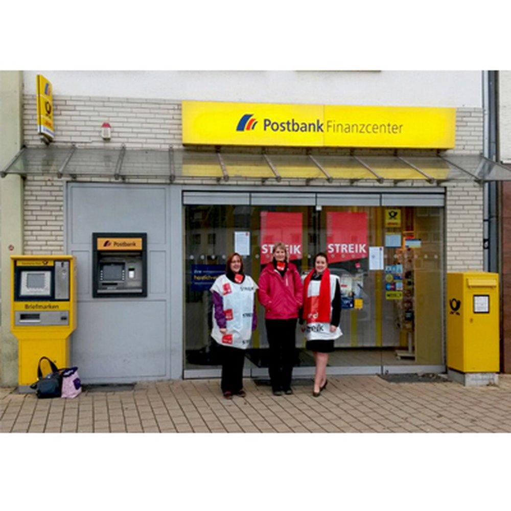 streiks im postbank filialvertrieb