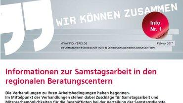 Deutsche Bank Samstagsarbeit