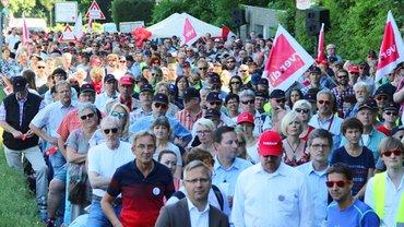Streik Versicherungswirtschaft Wuppertal