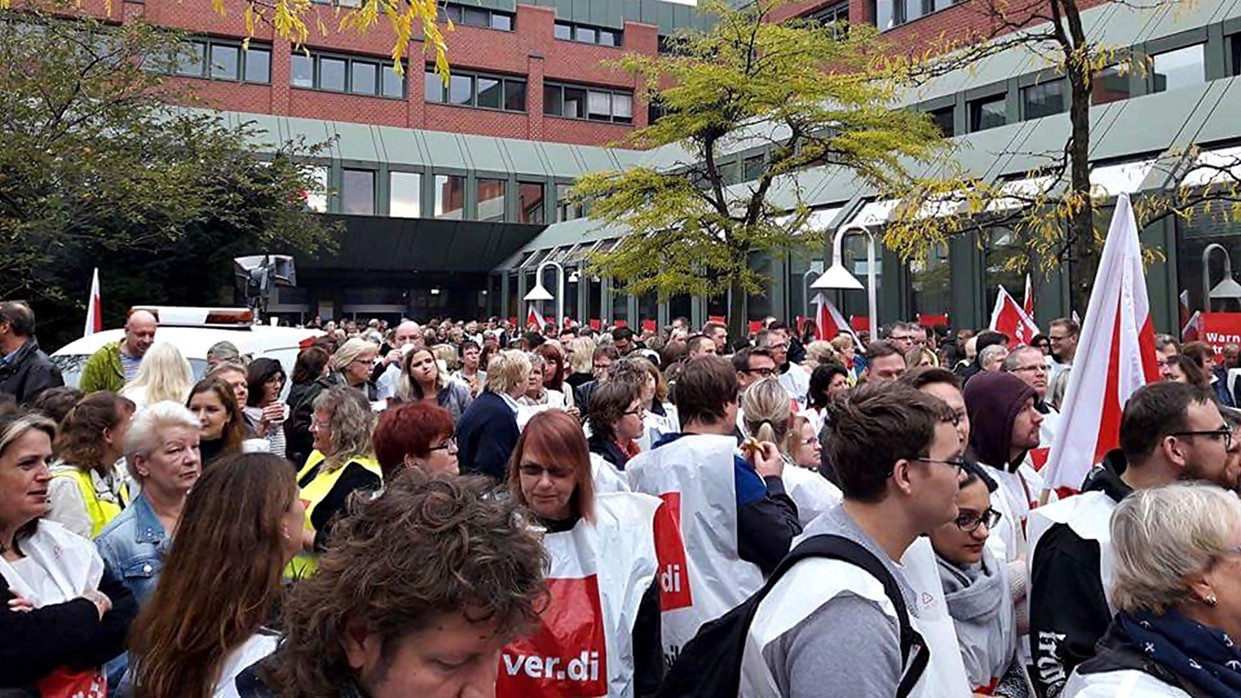Streik Hamburg