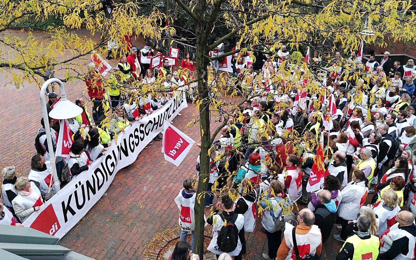 Streik Verdi Hamburg