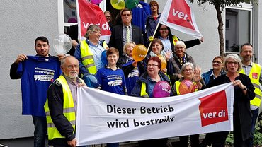 Postbank-Streik in Bremen am 22.09.2017