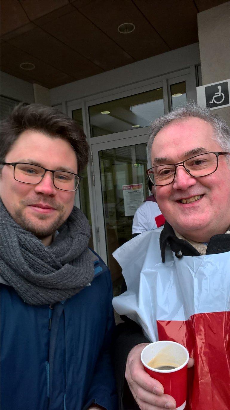 Warnstreiks bei den Sparkassen Hanau (20.03.2018)