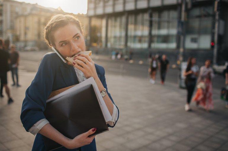 Mobile Arbeit Stress Erreichbarkeit
