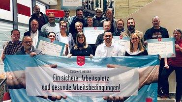 Mitglieder der Tarifkommission private/öffentliche Banken in Berlin: Tarifrunde 2019 – Jetzt geht es los!