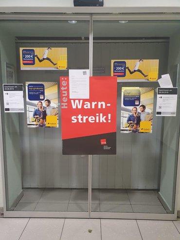 Streiks bei der Postbank in Nordrhein-Westfalen (06.09.2019)
