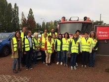 80 Kolleginnen und Kollegen im Streik