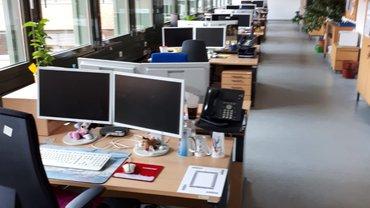 Büros in Hamburg sind leer!