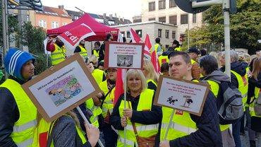 Streik in Köln