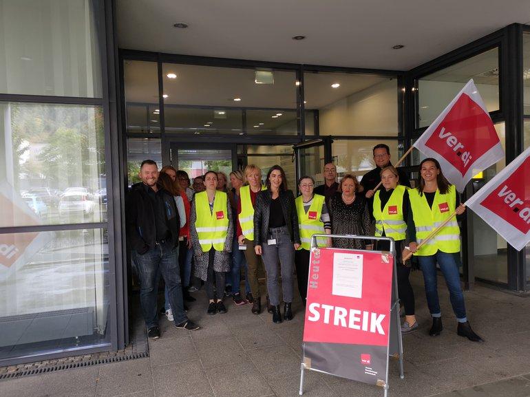 Heute und morgen Streik in Suttgart!