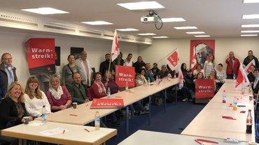 Erfolgreicher Streik in München!