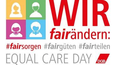 DGB Frauen Equal Care Day 2020 Logo (fairsorgen)