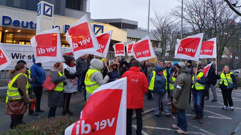Streik DB HR Solutions GmbH (07.01.2020)