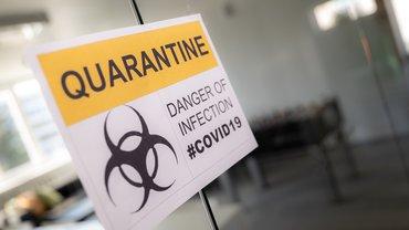 Corona Covid-19 Quarantäne Büro Office Virus