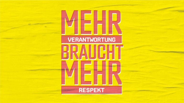 Mehr Verantwortung braucht mehr Respekt