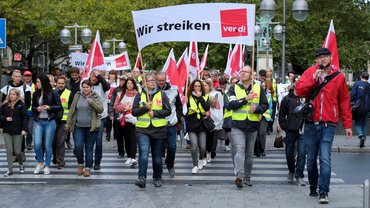 Streikdemo in Hannover