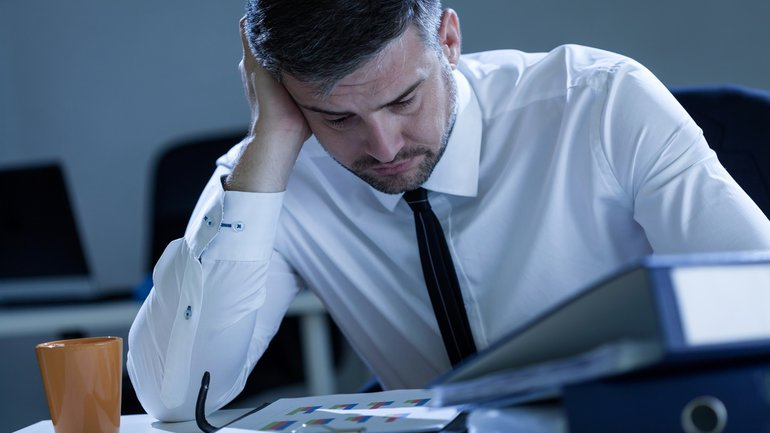 Stress Arbeitsbelastung Druck