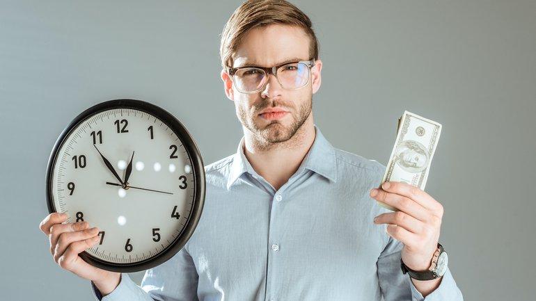 Zeit oder Geld?