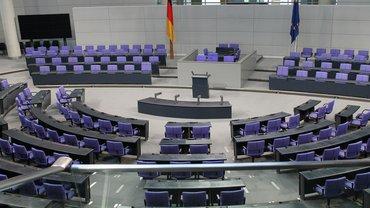 Bundestag Regierung Politik Plenarsaal